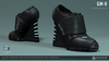 GM-X Boots (Black) (Maitreya Fitted) [Neurolab Inc.]