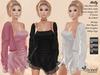 ST :: Molly Outfit - Maitreya, Slink (P, H), Belleza ( F), - 15 Texture HUD. Mix & Match