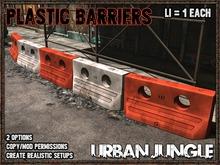 PLASTIC BARRIERS - URBAN JUNGLE