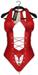 {ViSion} - Bodysuit Felisity - Red - Maitreya / Belleza / Slink Physique-Hourglass