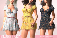 Blueberry - 7th Birthday - Sundress - Fat Pack