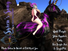 Syren's Song (Add Me!)- Bolt Purple