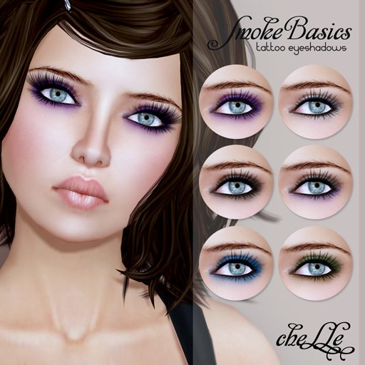 cheLLe (eyeshadow) Smoke Basics