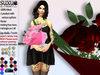 [SuXue Mesh] FATPACK Agnella Bouquet of Roses HUD 26 Textures included Holding Pose AO Resizable