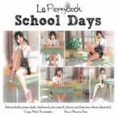 Le Poppycock *School Days* B
