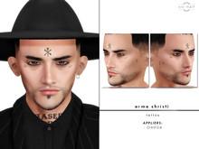xic naif - Arma Christi - tattoo (wear to unpack)