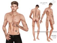 xic naif - You Will Die - tattoo (wear to unpack)