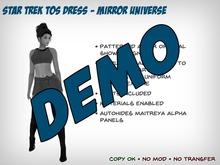 [S2S] Star Trek Dress (TOS Mirror Universe) - DEMO