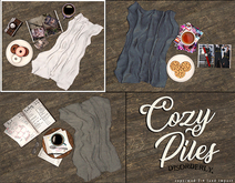 DISORDERLY. / Cozy Piles / Donuts & Pictures