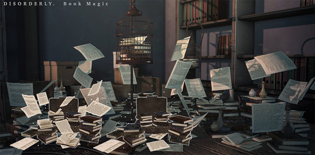DISORDERLY. / Book Magic / Magical Suitcase