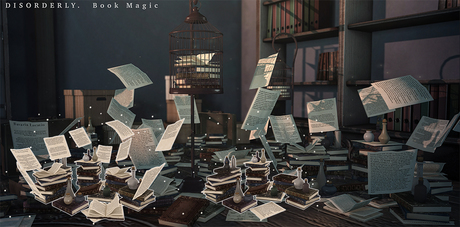 DISORDERLY. / Book Magic / Magical Potions