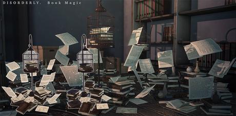 DISORDERLY. / Book Magic / Magical Birdcage / ADD