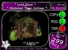 * Land Decor * Animated *Dogs Cottage *