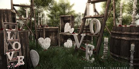 DISORDERLY. / Lovewood / Love Ladder / Pink