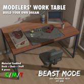 [BSTMD]Modelers' Work Table
