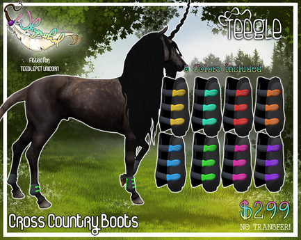 Teeglepet Unicorn - Cross Country Boots