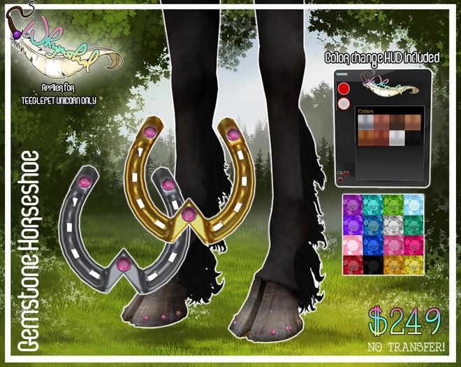 Gem Horseshoe - Teeglepet - Unicorn
