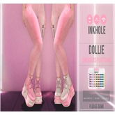 .Inkhole. Dollie Platform Sneakers (3sizes)