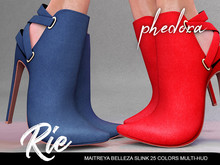 Phedora ~ Rie ankle boots  {ADD ME <33}