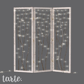 tarte. woodland room divider (white)