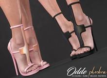 Phedora ~ odde heels { ADD ME <3 }
