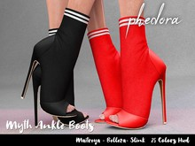 Phedora ~ Myth ankle boots  {ADD ME <3}