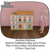 Sunshine Dollhouse BOX
