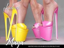 Phedora ~ maya heels { ADD ME <3 }