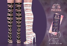 Phedora ~ Lesley gladiator heels {ADD ME <3}