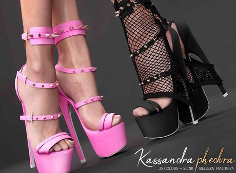 Phedora ~ kassandra heels updated{ ADD ME <3 }