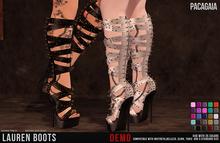 :PC: Lauren Boots (Belleza Venus, Isis, Freya, Slink Physique, Hourglass, Maitreya and Tonic) DEMO