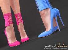 Phedora ~ greta heels v2 { ADD ME <3 }