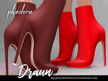 Phedora ~ Draun boots { ADD ME <33 }