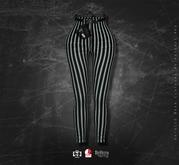 Goth1c0: Cyrtha High Waist Pants - Stripes