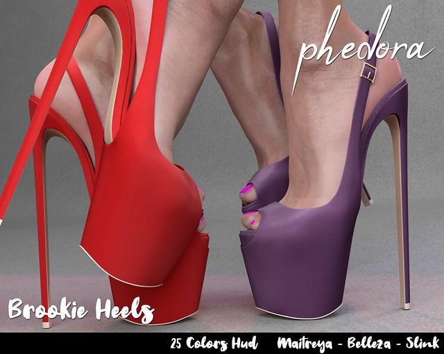 Phedora ~ Brookie heels {ADD ME <33}