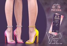 Phedora ~ Boney heels {ADD ME <3}