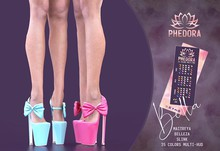 Phedora ~ Bella heels {ADD ME <3}