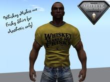 Angie's WhiskeyMakesmeFriskyAestheticYellow shirt_001