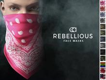 CA REBELLIOUS FACE MASKS LADIES
