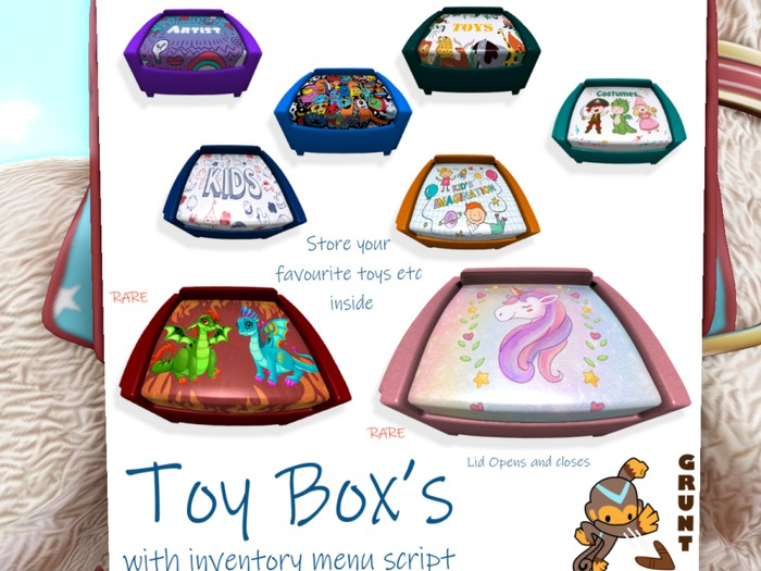 [Grunt] Animal Toy Box