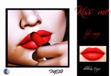 MDF - KISS ME - LIPS ROUGE -  Genus  (wear and touch)