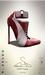 [sYs] POPP heels (body mesh) - red