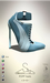 [sYs] POPP heels  (body mesh) - blue