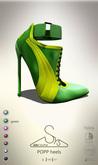 [sYs] POPP heels  (body mesh) - green