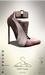 [sYs] POPP heels (body mesh) - brown