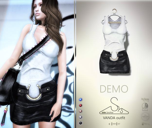 [sYs] VANDA outfit (body mesh) - DEMO