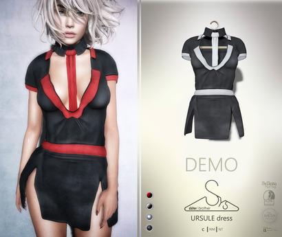 [sYs] URSULE dress (body mesh) - DEMO