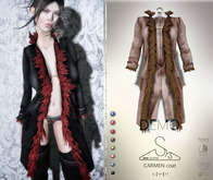[sYs] CARMEN coat (body mesh) - DEMO
