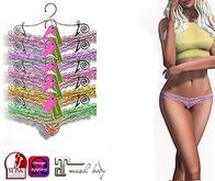 Eyelure  Lace Panties  5 Pack  Maitreya/OMEGA/SLINK APPLIERS