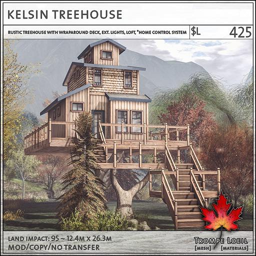 Trompe Loeil - Kelsin Treehouse V1.1 [mesh]
